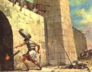 abimelech-millstone